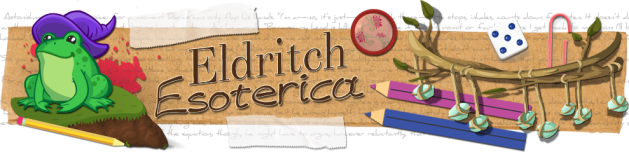 Header Image link to Eldritch Esoterica Tumblr