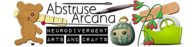 Header Link: Abstruse Arcana Neurodivergent Arts and Crafts