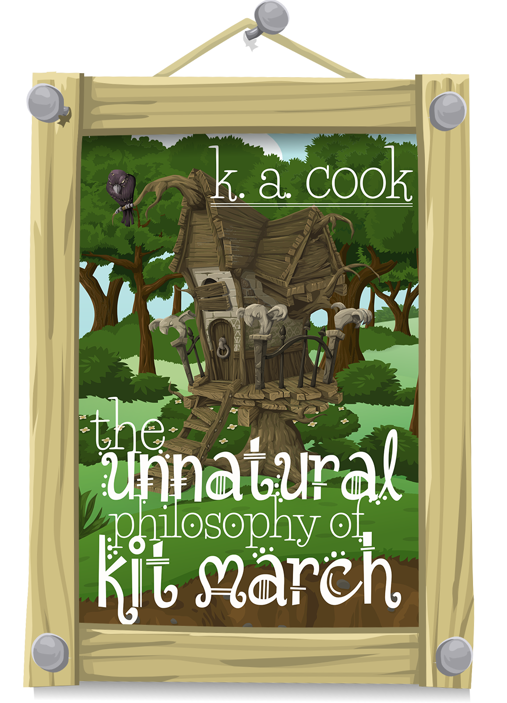 Cover image of The Unnatural Philosophy of Kit March by K. A. Cook