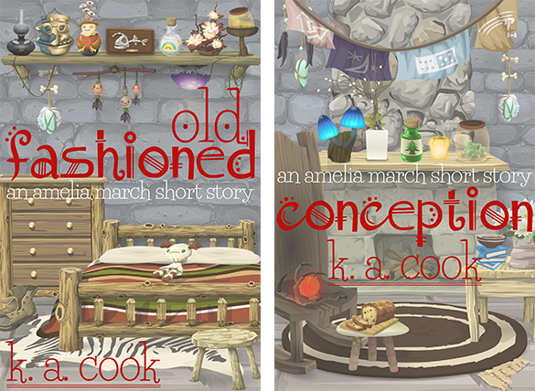 Cover images for Old Fashioned and Conception.